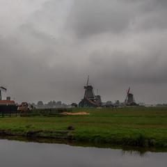Ветряные мельницы ЗААНСЕ-СХАНС... Нидерланды!