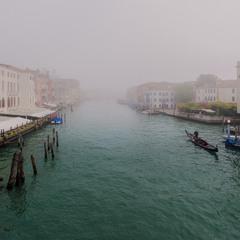 Прогулка по туманной Венеции...