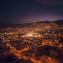 Ночной Куско... Перу!