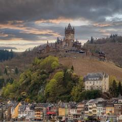 Город и замок Кохем...Германия!