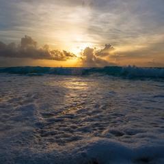 Закатная...Мексика, Карибское море!