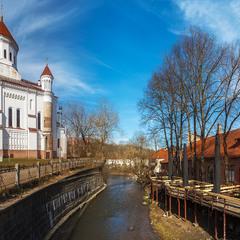 Весенний Вильнюс.