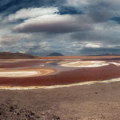 Лагуна Колорадо... Боливия!