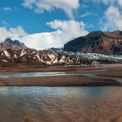 Таяние ледника...Исландия!