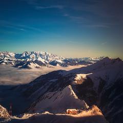 Предзакатная... ледник Кицштайнхорн.Целль-ам-Зее . Австрия!