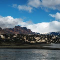 Таяние ледника... Исландия!