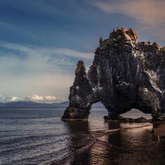 Хвитсеркур — скала Слон в Исландии!!!