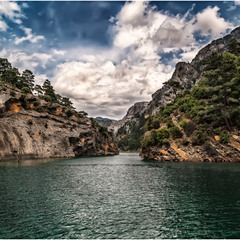 Зеленый каньон(Green Canyon)... Нефритовое царство Турции.
