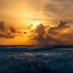 Закат на Карибах...Мексика!