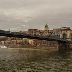 Пасмурный Будапешт...