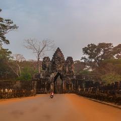 Утренний Ангкор-Ват...Камбоджа!