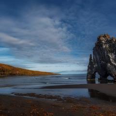 """""""Уходящий в даль""""...Хвитсеркур — скала Слон в Исландии!!!"""