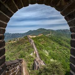 Уходящая вдаль...Great Wall of China...