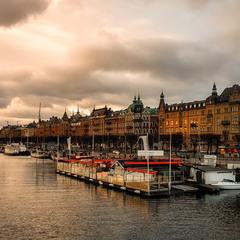 Вечерний Стокгольм...Швеция!