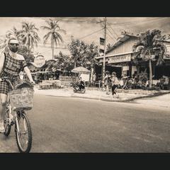 ТурЫстка, велосИпедистка. ..Муй Нэ,Вьетнам!