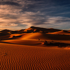 """""""Марсианское"""" утро...Сахарские дюны близ Мерзуги.Марокко!"""