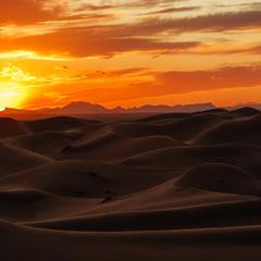 Рассвет на дюнах... Марокко!