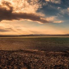 Соленое озеро пустыни Атакама... Чили!