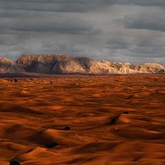 Вечерело в пустыне Руб-эль-Хали...ОАЭ...