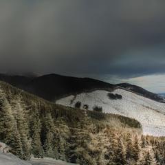 Вечерний взгляд на Высокие Татры...Словакия!