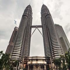 Башни Петронас... Куала-Лумпур,Малайзия.