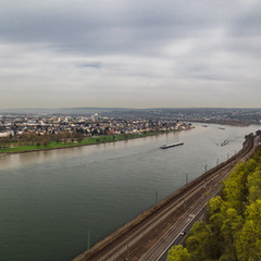 Вечерний Рейн... Германия!