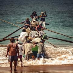 """Выход"" в океан...Шри Ланка!"