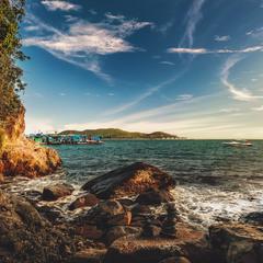 Вечер на острове Тран...Вьетнам!