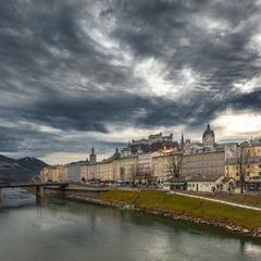 Зальцбург.Австрия...