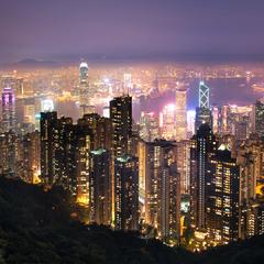Вечер в Гонгконге