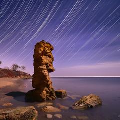 Каменный идол Черного моря