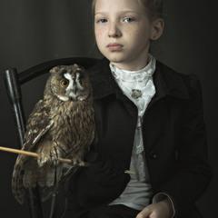 Портрет Марины с совой