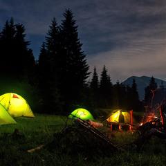 Літній вечір в поході
