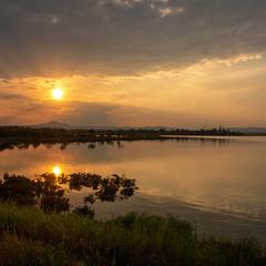 Вечір на озері Алікі #2