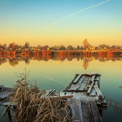спокій осіннього ранку