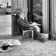 Жизнь бездомного