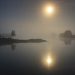 Лунный туман...