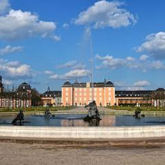 Дворцовый парк в Шветцингене