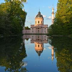 Дворцовый парк в Шветцингене 4