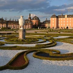 Дворцовый парк в Шветцингене 2