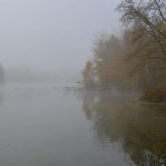 Туманным октябрьским утречком