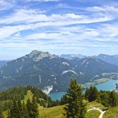 В краю гор и озёр