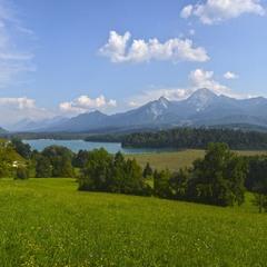 В окрестностях Факер-Зее (Каринтия, Австрия)