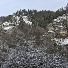 Уголок в горах