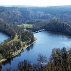 В природном парке Верхняя Заале, Тюрингия