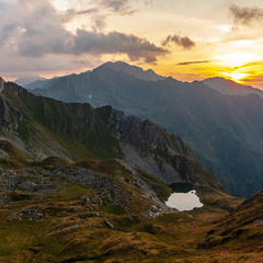 Fagaras Sunset