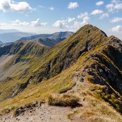 Moldoveanu Peak, 2544 m