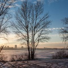 Первый лед на Днепре
