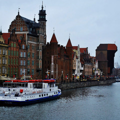 Cold and cute winter Gdansk