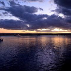 Calm evening in Siracusa
